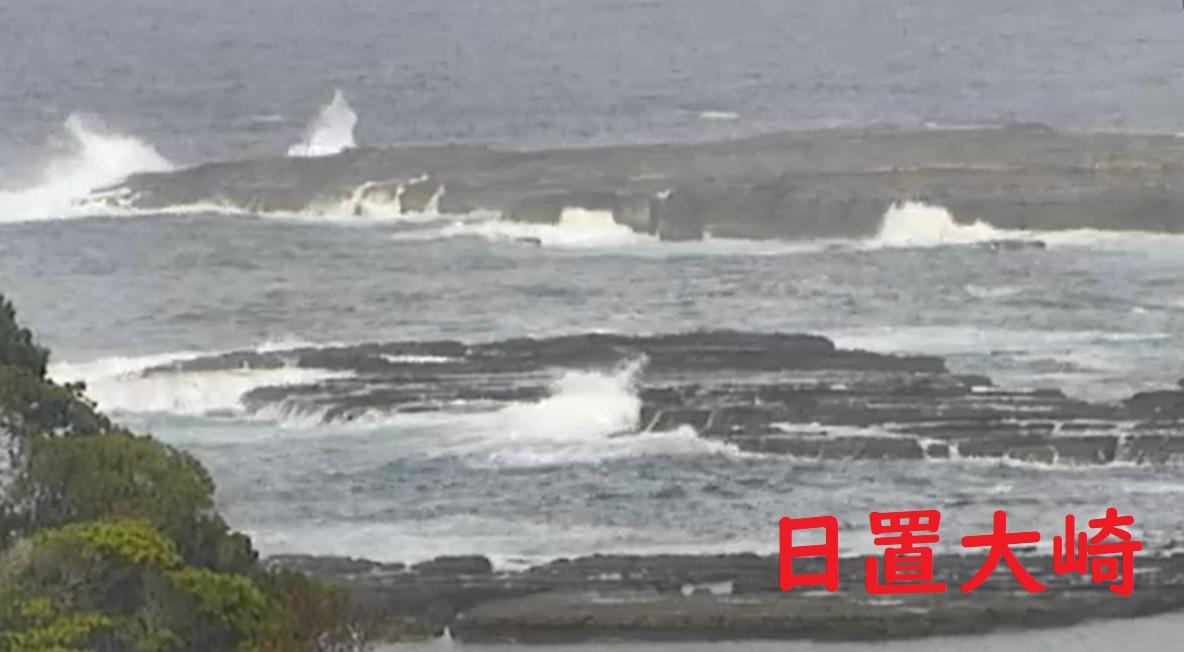 5/19(火)白浜、日置方面波あります。