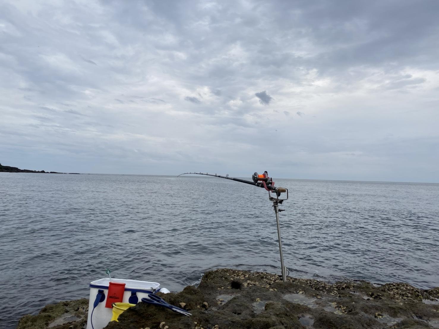 初めての底物釣り