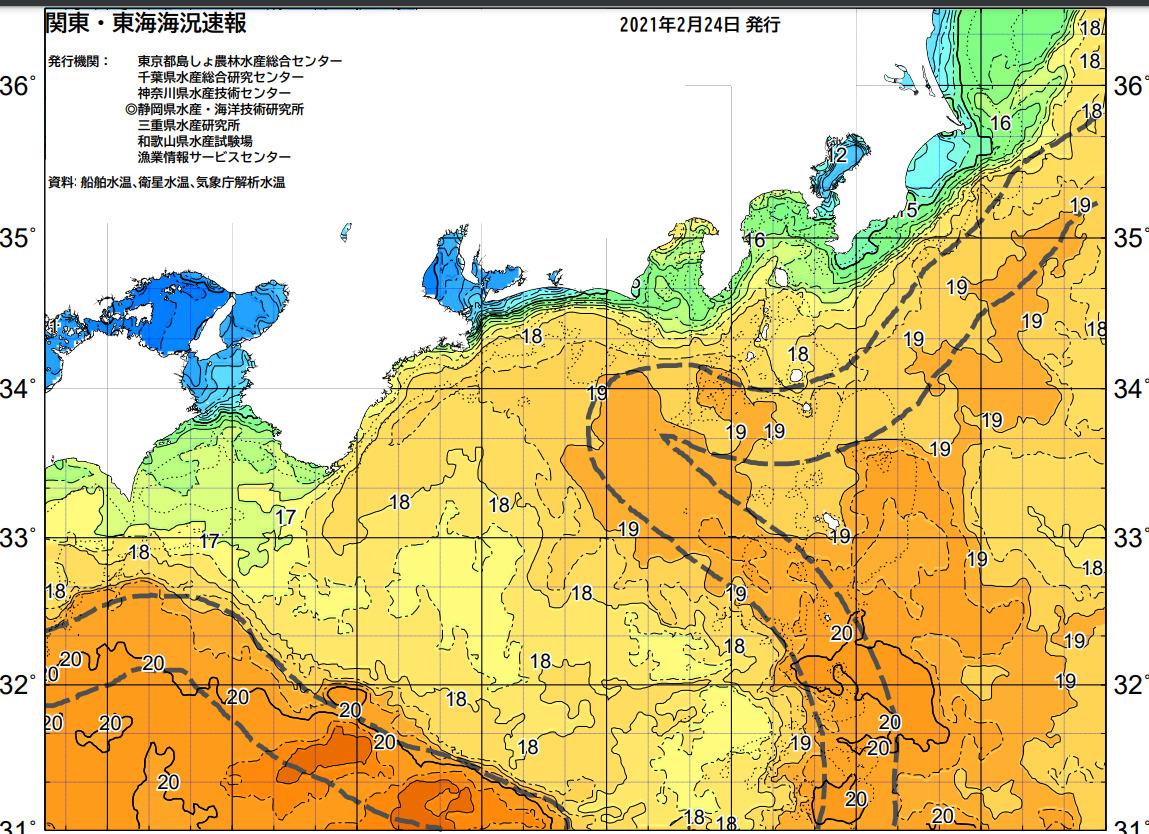 釣行サポート2/24(水)更新 週間天気解説【2/25(木)~3/6(土)まで】