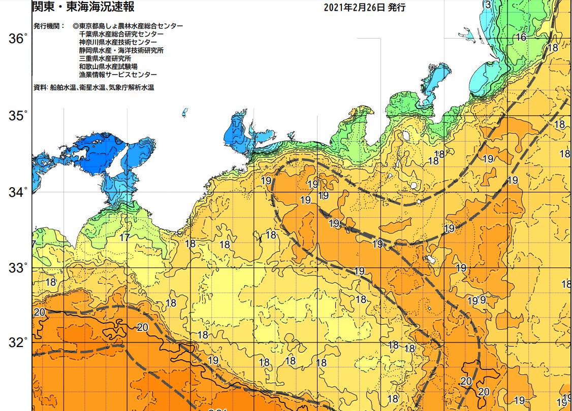 釣行サポート2/27(土)更新 週間天気解説【3/1(月)~3/6(土)まで】
