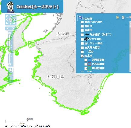 和歌山県沿岸は漁業権が発生します!