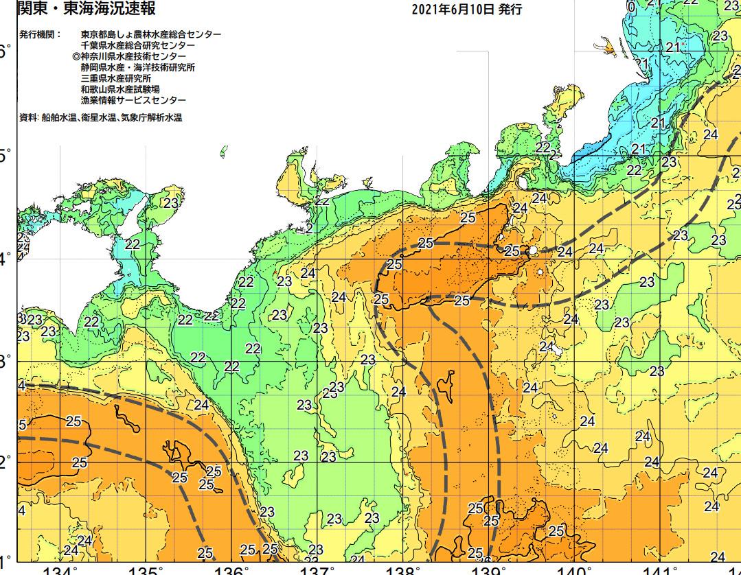 釣行サポート6/11(金)更新 週間天気解説【6/13(日)~6/16(水)まで】