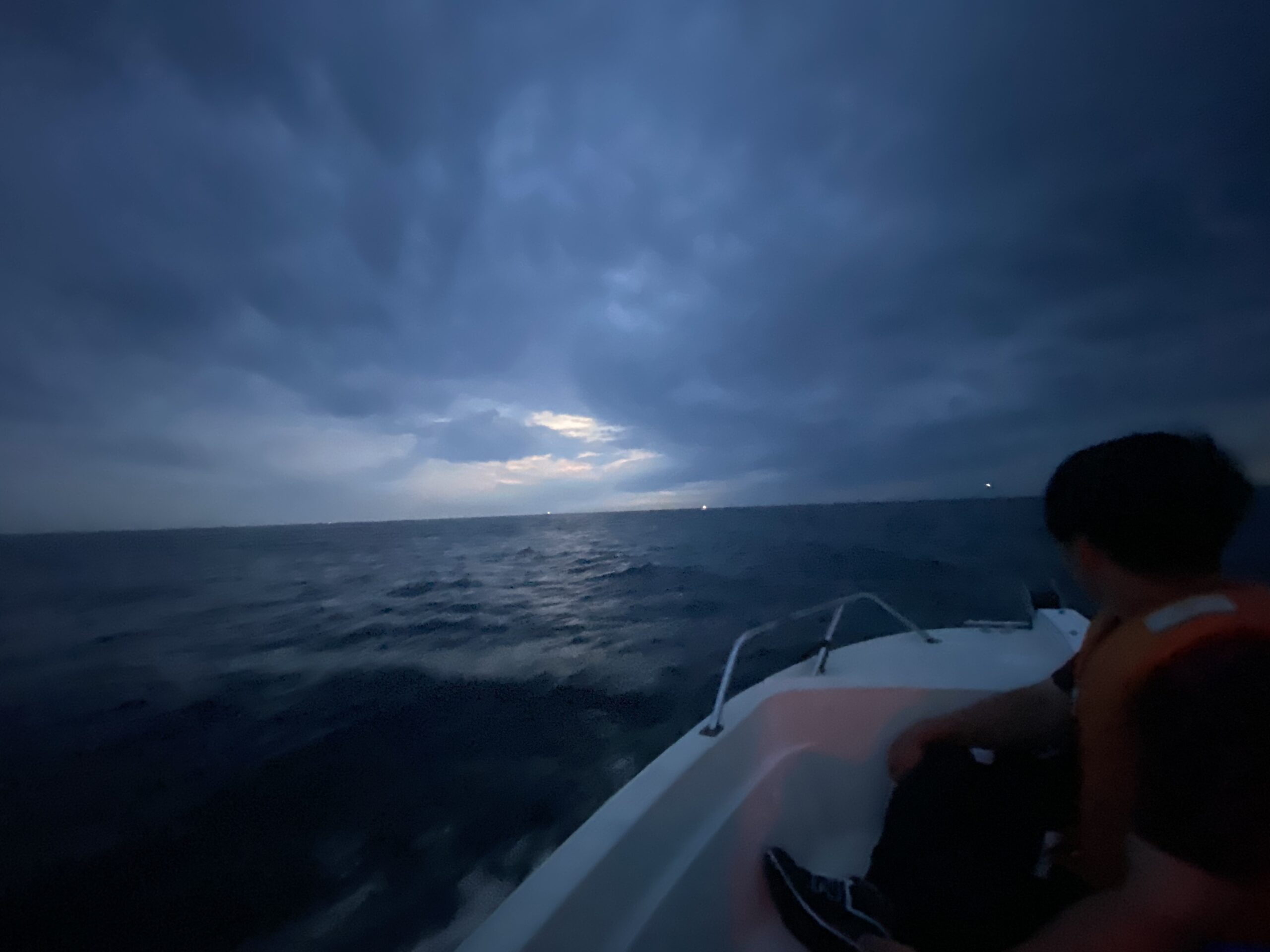 初めて釣りをする初心者の友達と船釣り! 尺アジ入れ食い!