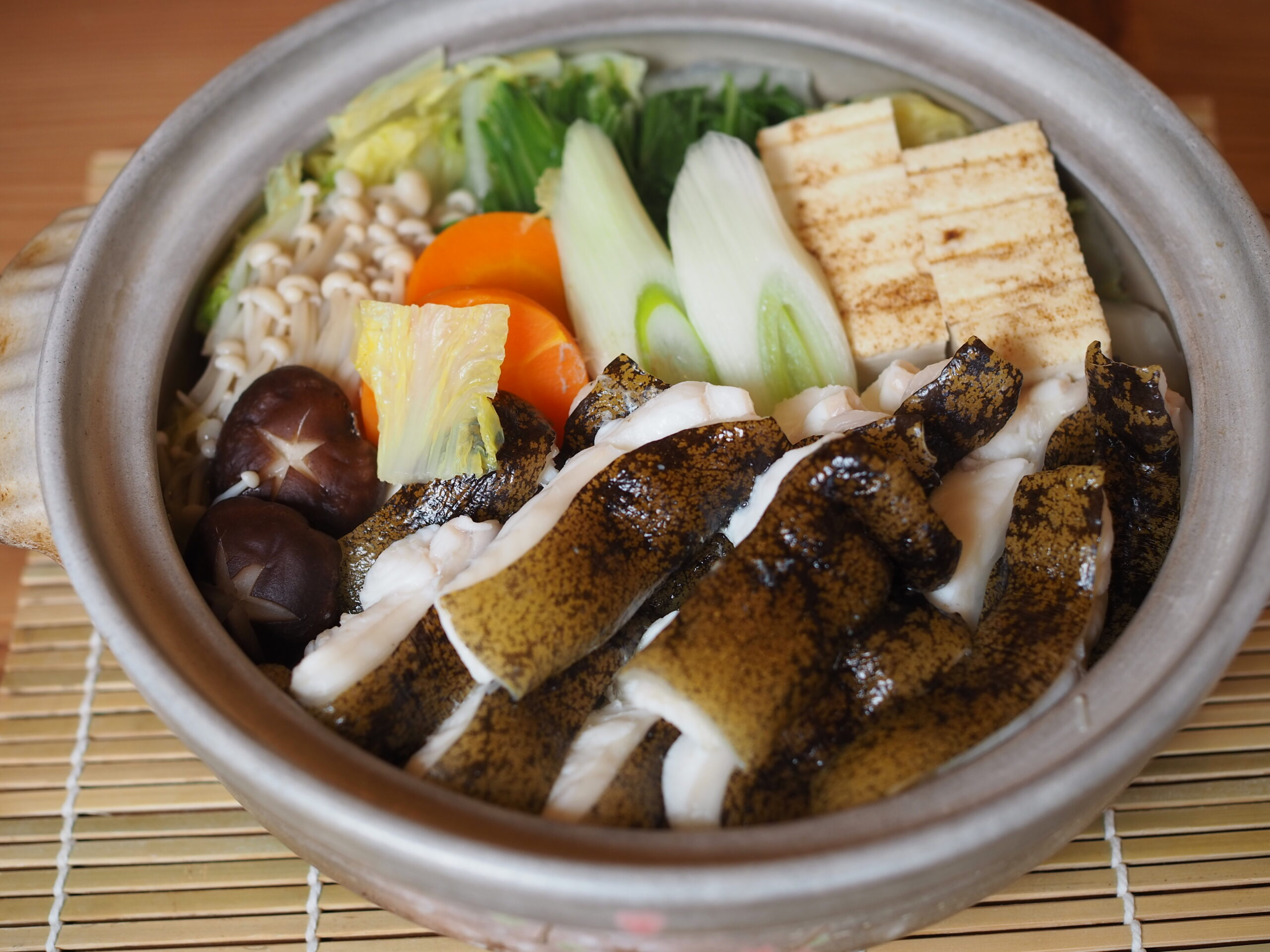 ウツボ鍋 料理